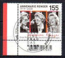 """Deutschland Mi. 3500 """"100. Geburtstag Von Annemarie Renger"""" ESST - Usati"""