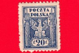 POLONIA - 1919 - Aquila Con Fasci - Emissione Polonia Del Nord - Eagle - 20 - ....-1919 Provisional Government