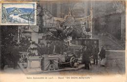 SALON AUTOMOBILE DE 1903- STAND DE DION-BOUTON - Postcards