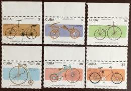 Cuba 1993 Bicycles MNH - Ongebruikt
