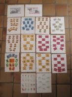 173 étiquettes Boites D'allumettes Safety Matches - Puzzle Animaux Ninove Café De Roeck Bruxelles Tounquet Jumet SAJEM - Matchbox Labels