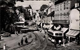 Cp Quiberon Morbihan, Place Hoche, Rue De Verdun, Bus - Altri Comuni