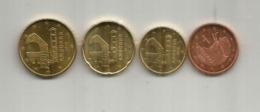 Nouvelle émission Monnaie € EURO ANDORRA, 2018. (5c,10c,20,50c). 5c & 10c  Difficile à Trouver (very Hard To Find). Mint - Andorra