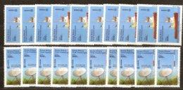 Cept 1988 Chypre Turc Turks Cyprus Yvertn° 208-209 *** MNH 10 Ex. Cote 40,00 € Transport Communication - Europa-CEPT