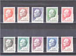 YOUGOSLAVIE 1967 TITO Yvert 1100--1109 NEUF** MNH - 1945-1992 République Fédérative Populaire De Yougoslavie