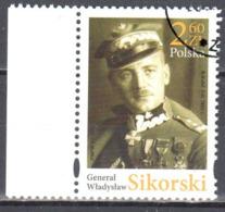 Poland 2018 - General Władysław Sikorski - Mi.5003 - Used - Used Stamps