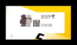 Bund / Germany: Internetmarke 'Teddybär, 2019' / Internet Stamp 'Teddy Bear' - Puppen