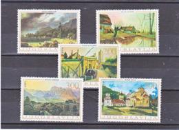 YOUGOSLAVIE 1968 PEINTURES Yvert  1191-1195 NEUF** MNH - 1945-1992 République Fédérative Populaire De Yougoslavie