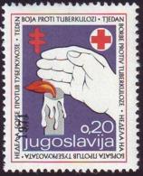 YUGOSLAVIA - JUGOSLAVIA - CROATIA - TBC Ovpt. Tax Stamps  - **MNH - 1971 - Wohlfahrtsmarken