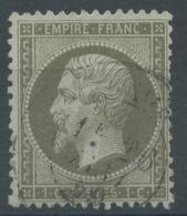 Lot N°51345  Variété/n°19, Oblit Cachet à Date, P De POSTES - 1862 Napoleone III