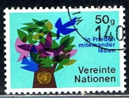 NATIONS UNITS 21 // YVERT 1 (VIENNE) // 1979-80 - Centre International De Vienne