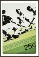 Netherlands Nederland - Mint Postcard - Field Hockey Sur Gazon Sellos - Briefmarken - Neuve - Non écrite - 2 Scans - Hockey (Field)