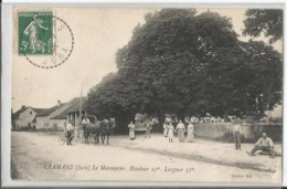 CPA - 39 - Jura - Cramans - Le Marronnier - Très Animée - Attelage - Other Municipalities