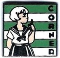 CORNER - C16 - JEUNE FILLE - Verso : CORNER - Marcas Registradas