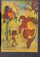 REF 388 : CPSM Carte Postale à Système Relief 3D Visiomatic Disney Le Livre De La Jungle Jungle Book Disney - Dreh- Und Zugkarten