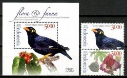 Indonesia 2015 / Birds Flowers MNH Aves Flores Vögel Blumen Oiseaux Fleurs Uccelli / Cu14719  36-16 - Unclassified