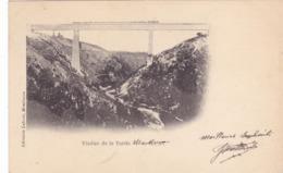 CPA 23 @ VIADUC DE LA TARDES (EIFFEL) En 1905 à Evaux Les Bains - Creuse - Ligne Ferroviaire Paris Ussel - Evaux Les Bains