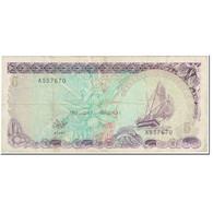 Billet, Maldives, 5 Rufiyaa, 1983, 1983-10-07, KM:10a, TB - Maldiven