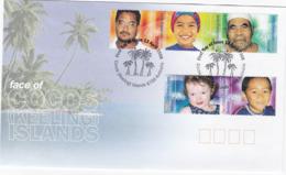 Cocos (Keeling) Islands 2000 Faces Of Cocos FDC - Cocos (Keeling) Islands