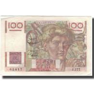 France, 100 Francs, Jeune Paysan, 1954-01-07, TTB, Fayette:28.41, KM:128d - 1871-1952 Antichi Franchi Circolanti Nel XX Secolo