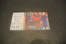 K23106 -Booklet MNh Vatican City 2001 - Nativitas - Christmas - Carnets