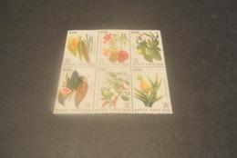 K23129 -set In Bloc - Small Plie On Corner - MNh Vatican City 1992 - Fruit , Vegetables - Sonstige