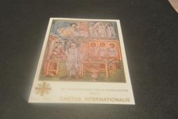 M6849 -  Bloc  MNh Vatican City 1990 - Caritas Int. - Blocs & Feuillets