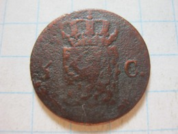 1/2 Cents 1822 - [ 3] 1815-… : Royaume Des Pays-Bas