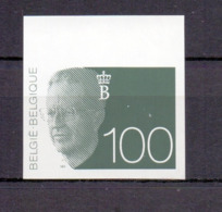 2481 Koning Boudewijn 100fr ONGETAND POSTFRIS**  1992 - Non Dentelés