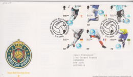Great Britain 2006 Wold Cup Football Winners FDC - FDC