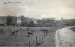Mont St Guibert - Rue Du Cimetière - NELS - Ed: V. Delvaux - Circulé - Cachet Et Timbre Allemand - Etat: Voir 2 Scans. - Mont-Saint-Guibert
