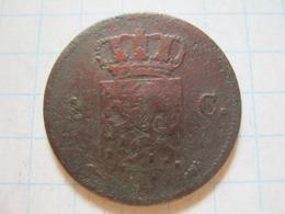 1 Cent 1822 - [ 3] 1815-… : Royaume Des Pays-Bas
