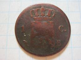 1 Cent 1826 B - [ 3] 1815-… : Royaume Des Pays-Bas