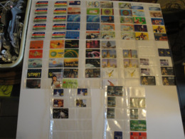 90 Phonecards From Asia - All Different - Schede Telefoniche