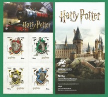 Portugal  2019 , Harry Potter - Heraldic - Selbstklebend / Self-adhesive - Postfrisch / MNH / (**) - 1910-... Republik