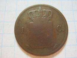 1 Cent 1828 - [ 3] 1815-… : Regno Dei Paesi Bassi