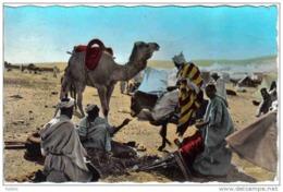 Carte Postale   Afrique   Scènes Et Types  Un Forgeron  Dans Le Desert  Trés Beau Plan - Non Classés