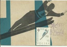 Carte Maximum - Pologne - Ski Jumping - Tarjetas Máxima