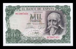 España 1.000 Pesetas J. Echegaray 1971 Pick 154r Replacement Serie 9c SC UNC - [ 3] 1936-1975: Franco