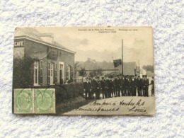 Roclenge Sur Geer   Fête Des Facteurs  1908 - Bassenge