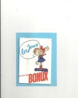 """LIVRE DE PUB OFFERT PAR """" BONUX """"  LES JEUX & LES SOLUTIONS . LIVRE INTACT JEUX VIERGES . 20 PAGES - Books, Magazines, Comics"""