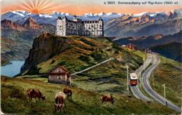Sonnenaufgang Auf Rigi Kulm (3823) * 30. 7. 1943 - SZ Schwyz