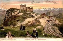 Rigi-Kulm - Sonnenaufgang (3823) * 23. 7. 1907 - SZ Schwyz