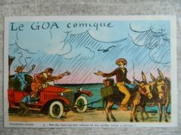NOIRMOUTIER     LE PASSAGE DU GOA       CARTE HUMORISTIQUE N° 3 - Ile De Noirmoutier