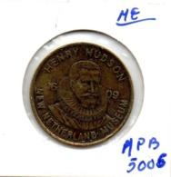 PAYS-BAS * MEDAILLE JETON HENRY HUDSON 1609 - Nederland
