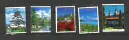 Japon N°5160, 5235, 5236, 5242, 5251 Cote 4 Euros - 1989-... Emperador Akihito (Era Heisei)
