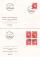 FDC Brand Der Luzerner Kapellbrücke 1993 - Svizzera