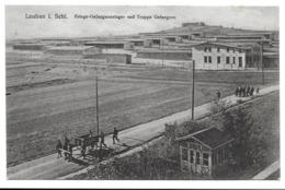 LAUBAN I.SCHL. KRIEGS-GEFANGENENLAGER UND TRUPPS GEFANGENE - (cachet Zug Lauban-Kohlfurt) - Schlesien