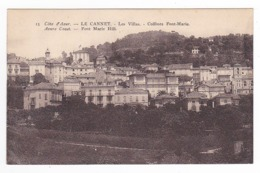 06 Le Cannet En 1954 N°15 Les Villas Collines Font-Marie Edition Tairraz Nice - Le Cannet