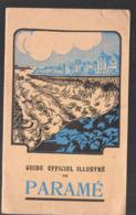 Paramé (35 Ile Et Vilaine) Guide Officiel Illustré 1931  (PPP11368) - Dépliants Touristiques